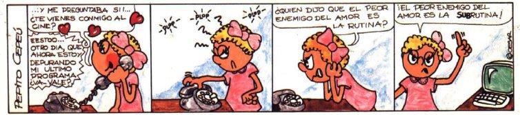 Pepito Cepeu Input MSX #1