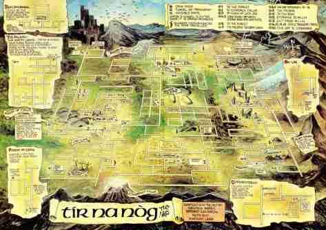 mapa tirnanog
